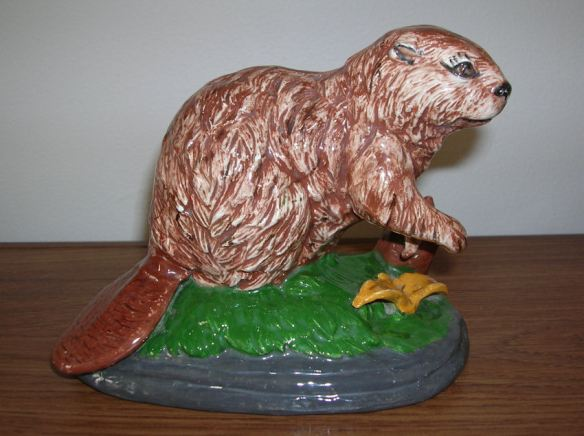 Ceramic Beaver