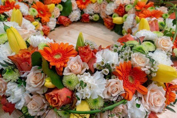 Orange & Yellow Wreath