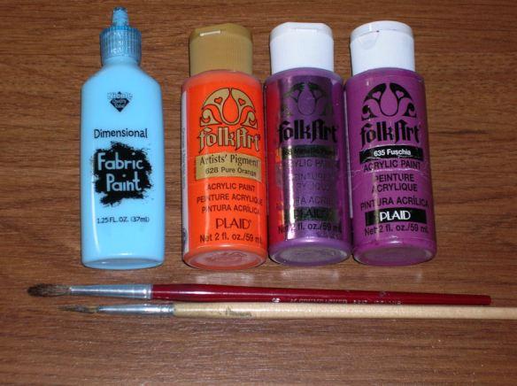 Purple Seahorse Paints