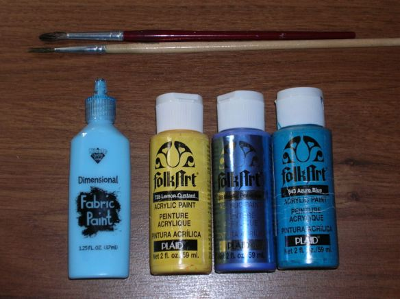 Turquoise Seahorse Paints