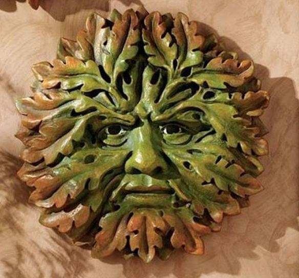 Green Man- Before