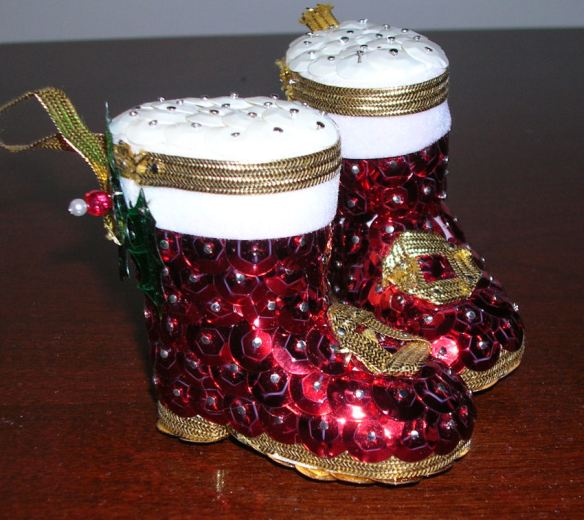 Christmas Boots Ornaments