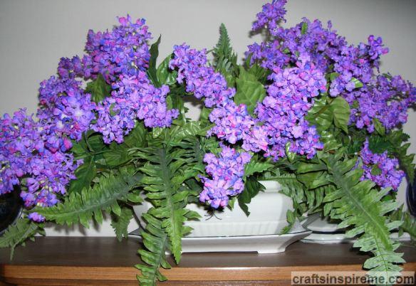 Lilacs Soup Tureen
