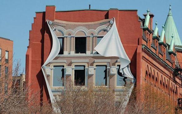 Trompe l'oeil Facade Toronto