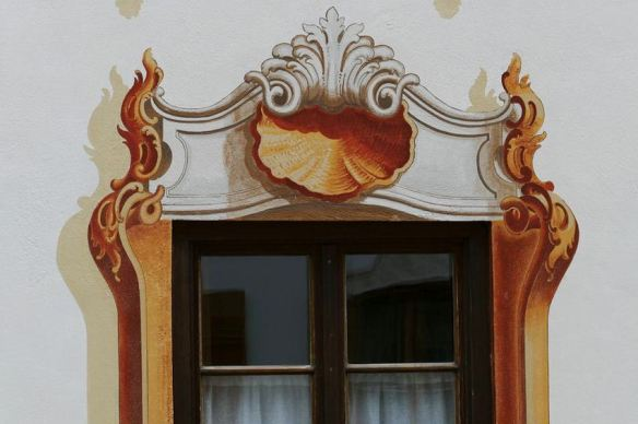 Ornate Window Frame