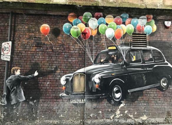 Hailing a Taxi Cab