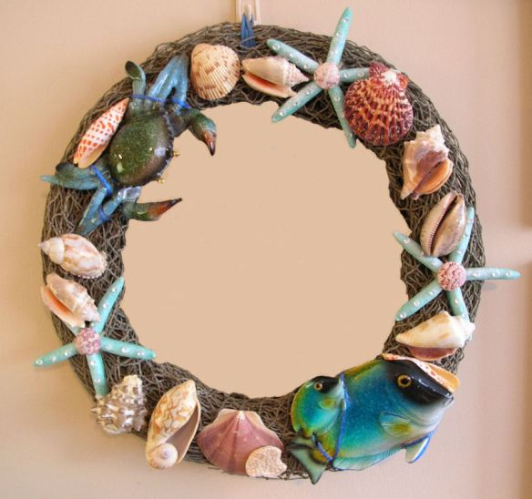 Ocean Wreath with Open Center