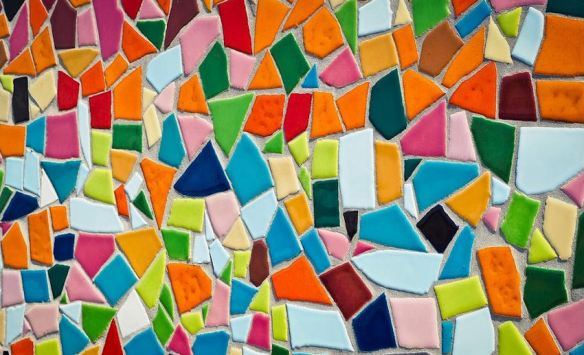 Multicolor Tile Wall
