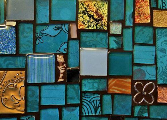 Glass Mosaic Tray