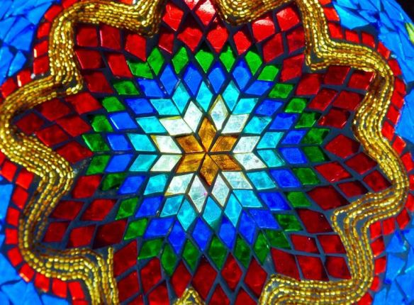 Glass Mosaic Geometric