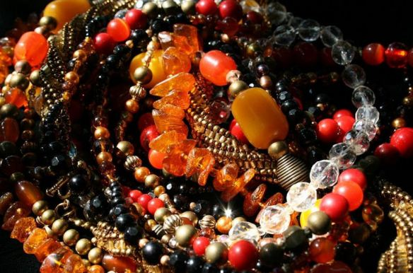 Beaded Jewelry in Fall Colors