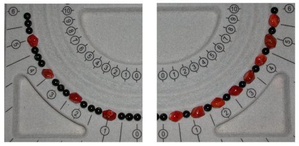 Black Onyx & Carnelian Beads