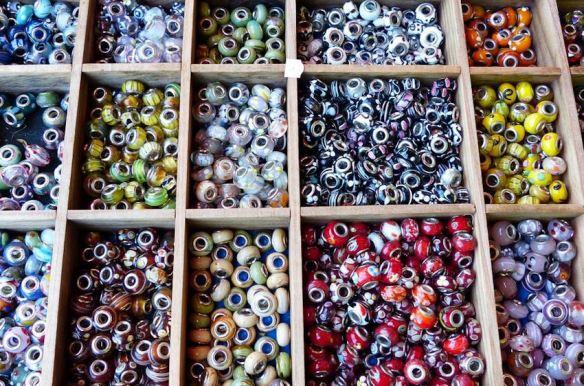 Large-Hole Glass Beads