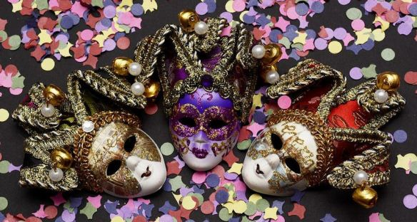 Ornate Venetian Masks