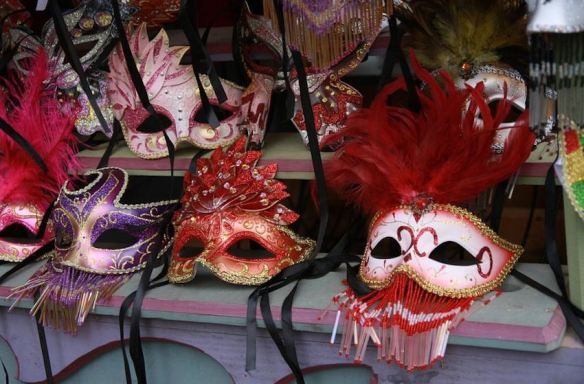 Assorted Feathered & Bejeweled Masks