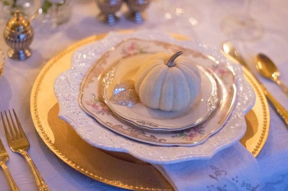 Elegant Traditional Place Setting