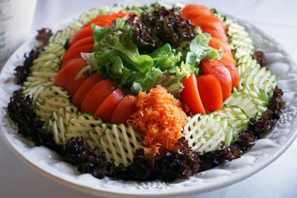 Store-Bought Salad Platter