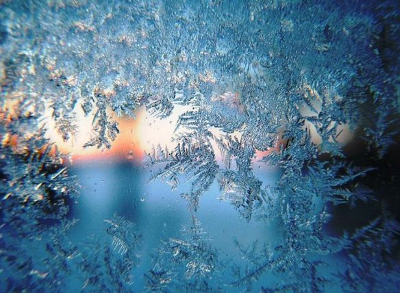 Snow & Ice on a Window