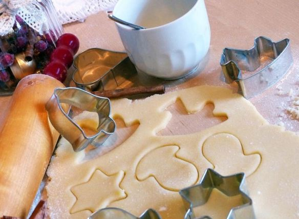 Cookie Cutters & Dough