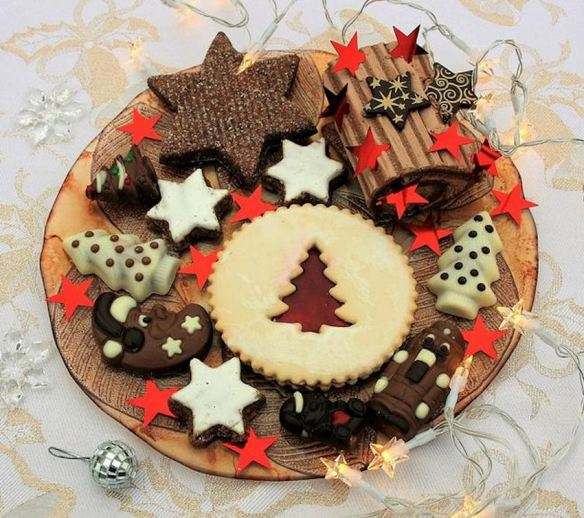 Holiday Cookie & Candy Platter