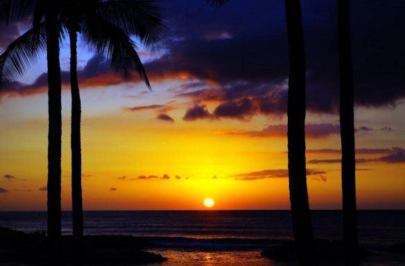 Sunset - Cool tones