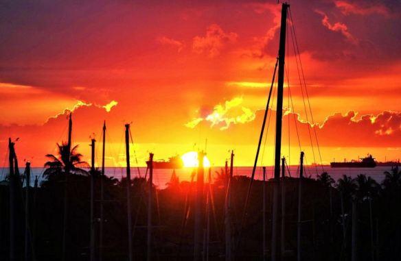 Sunset - Warm tones