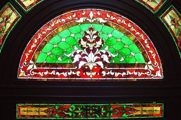 Stained Glass Window Entry