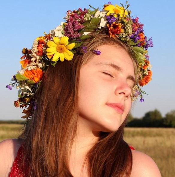 Wild Flowers Crown