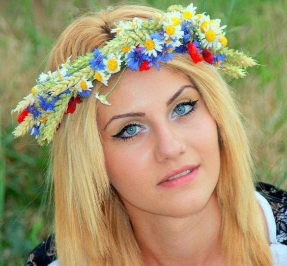 Daisies & Cornflowers Crown