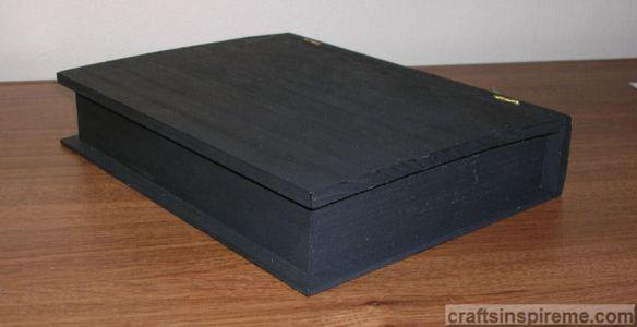 Book Painted Black