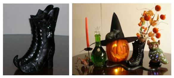 Witch Boots Centerpiece