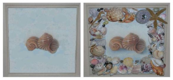 Seashell Plaque
