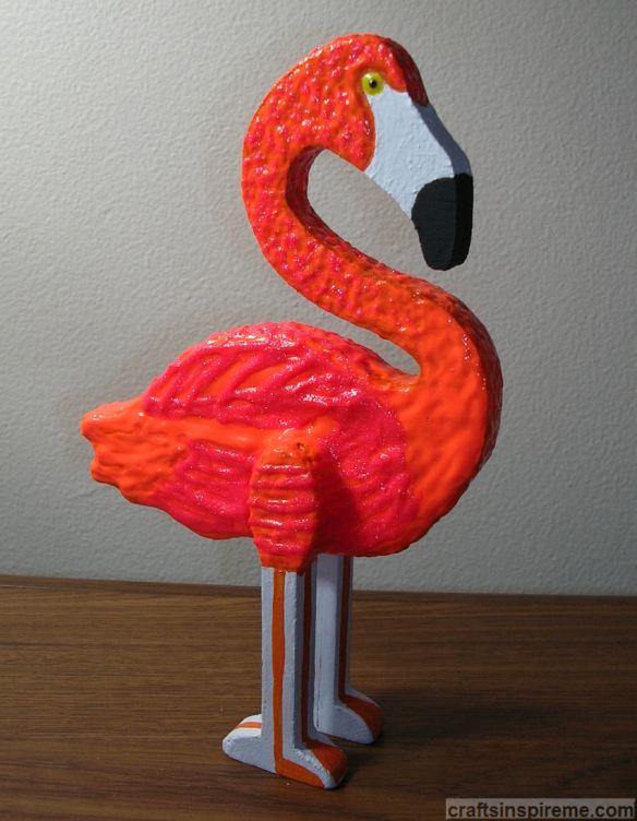 Finished Flamingo