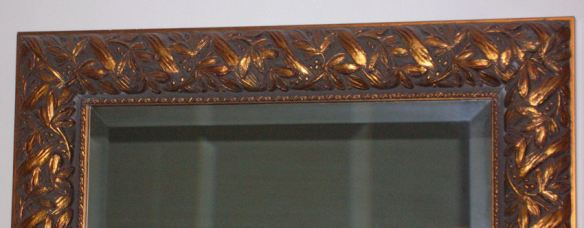 Ornately Carved Wood Frame