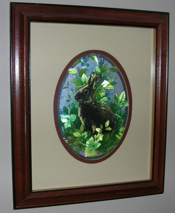 Double Matted Wood Frame
