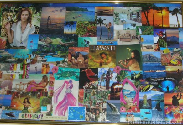 Completed Vision Board