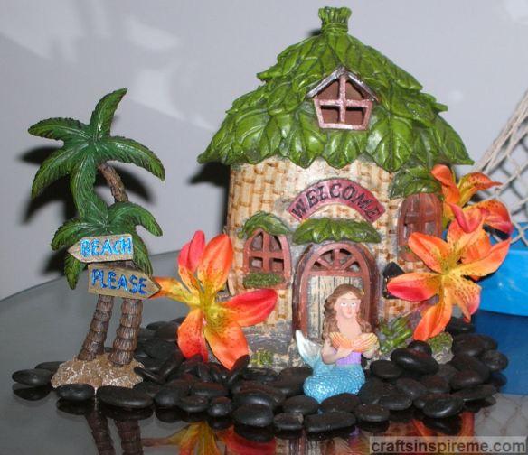 Tropical House Closeup