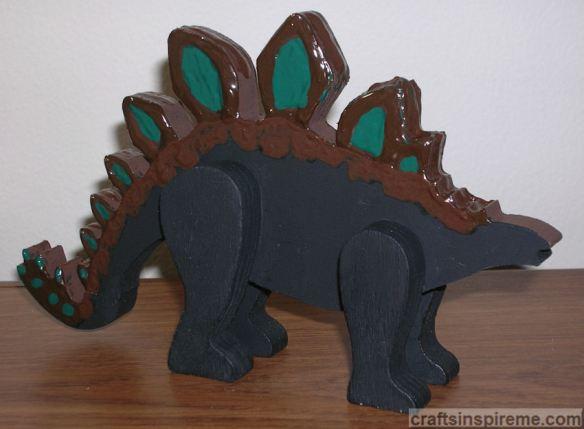 Dinosaur with Fabric Paint