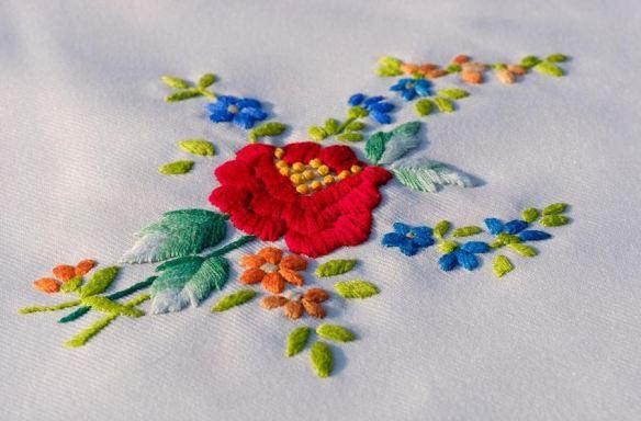 Floral Embroider
