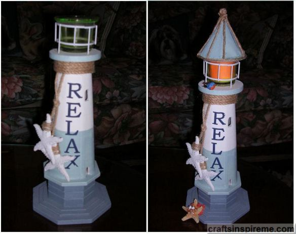 Light House Before & After