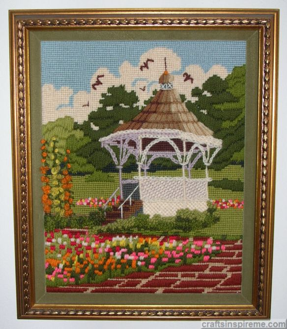 Needlepoint Gazebo