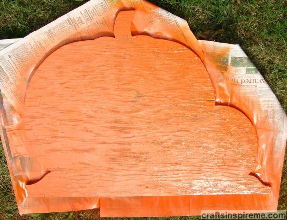 Orange Spray Paint
