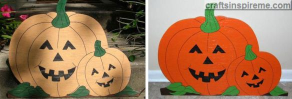 Before & After Pumpkins