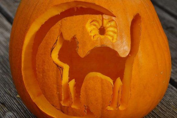 Cat & Spider Pumpkin