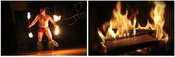 Fire Dance & Fireplace