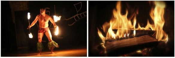 Fire Dance & Fireplace