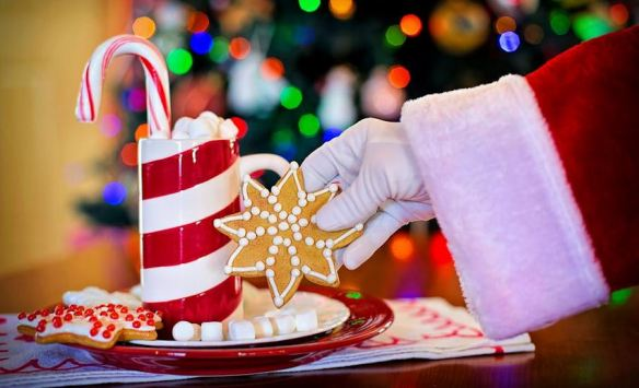 Hot Chocolate & Cookies for Santa