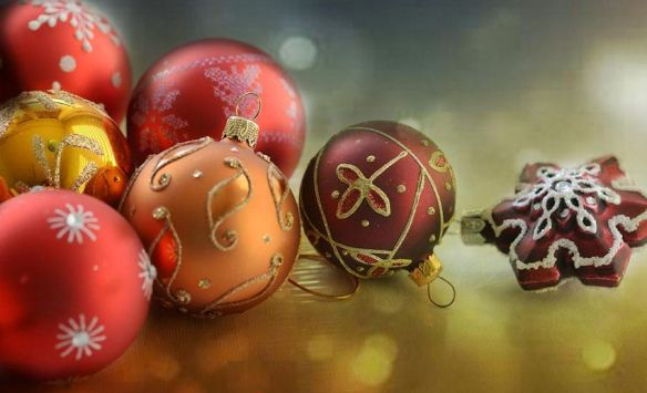 Assorted Christmas Balls