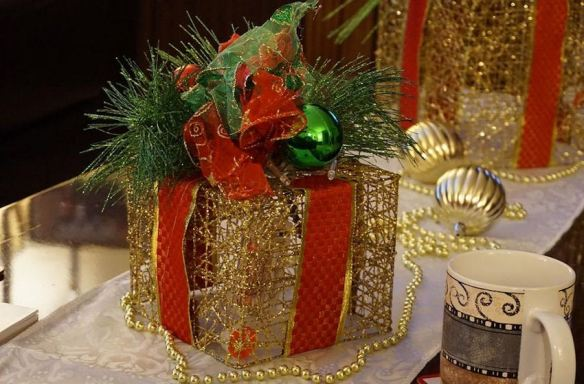 Gift Box Centerpiece