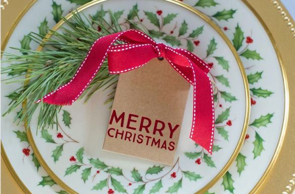 Gift Tag Place Cards